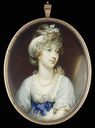 1797 Princess Amelia attributed to Anne Beechey (auctioned by Bonhams)