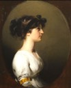 1800 Hon. Caroline Upton by Sir Thomas Lawrence (Sterling and Francine Clark Art Institute - Williamstown, Massachusetts USA) From the lost gallery