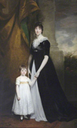 1800 Lady Caroline Villiers (1774–1835), Lady Paget, later Duchess of Argyll, with her eldest son Henry (1797–1869), later 2nd Marquess of Anglesey by John Hoppner (Plas Newydd, Llanfairpwll - Isle of Anglesey (Ynys Môn) UK)
