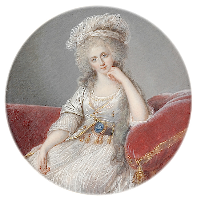 1800ca. Adelaide de Bourbon mother of Louis Philippe by Elisabeth Vigee-Lebrun (Boris Wilnitsky)
