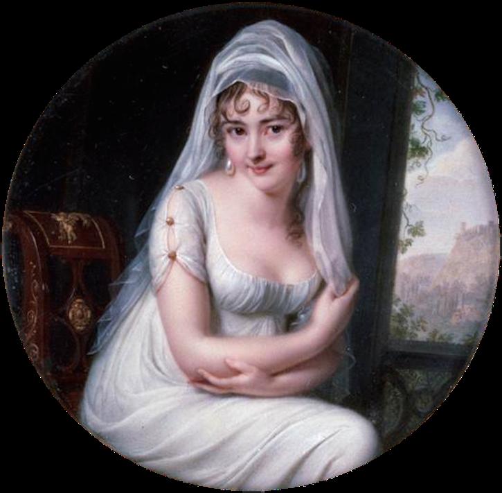 1801 Madame Recamier by Jean-Baptiste Jacques Augustin (Musée du Louvre - Paris, France) Wm X 1.5