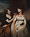 1801 Portrait of Charlotte and Sarah Carteret-Hardy by Sir Thomas Lawrence (Cleveland Museum of Art, Cleveland Ohio)