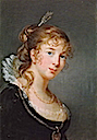 1801 Princess Louise Radziwill Hohenzollern by Élisabeth-Louise Vigee-Lebrun (location unknown to gogm)