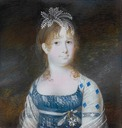 1802 Infanta Maria Isabella of Spain by Nicolas François Dun (auctioned by Christie's)