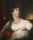 1802 Lady Maria Hamilton by Sir Thomas Lawrence (Hunterian Museum & Art Gallery - Glasgow, West Central Lowlands UK)
