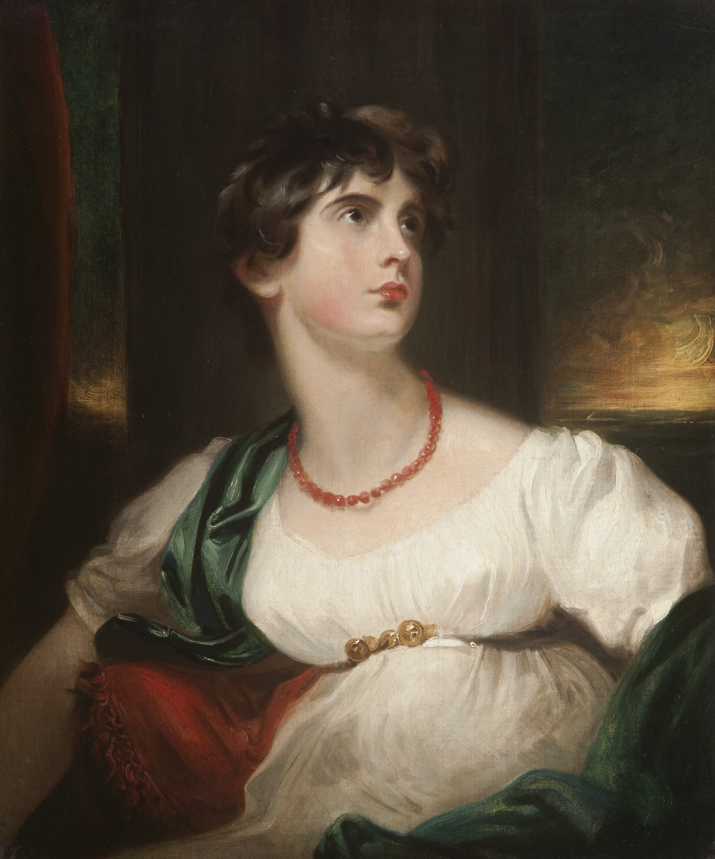 1802 Lady Maria Hamilton by Sir Thomas Lawrence (Hunterian Museum ...