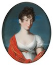 ca. 1802 Marie Brunswick-Wolfenbuettel, born Princess of Baden by Christian August Schwartz (Boris Wilnitsky)