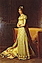 1806-1807 Stephanie Napoleon de Beauharnais by Baron François Pascal Simon Gérard (location unknown to gogm)