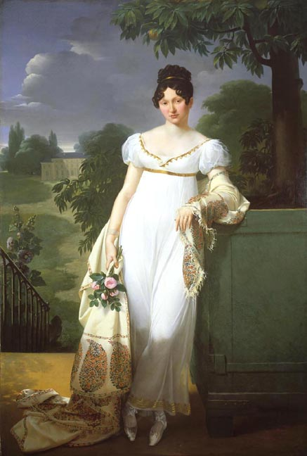 1808 Félicité-Louise-Julie-Constance de Durfort, Maréchale de Beurnonville by Merry Joseph Blondel (auctioned)