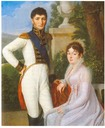 1810 Jérome und Katharina von Westphalen by Sebastian Weygandt (private collection)