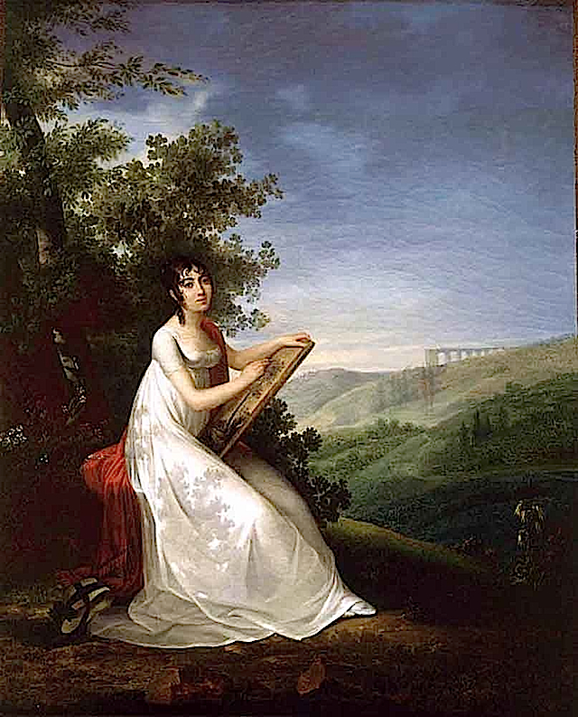 1810 Adelie Auguie by  by Francois-Joseph Kinsoen (private collection)