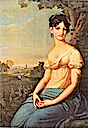 1810 Dorothea Biron aged 17 by Josef Grassi (location unknown to gogm)