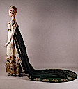 1810 French court dress (Kent State University - Kent, Ohio USA)