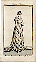 1811 Joséphine court dress from Costume Parisien
