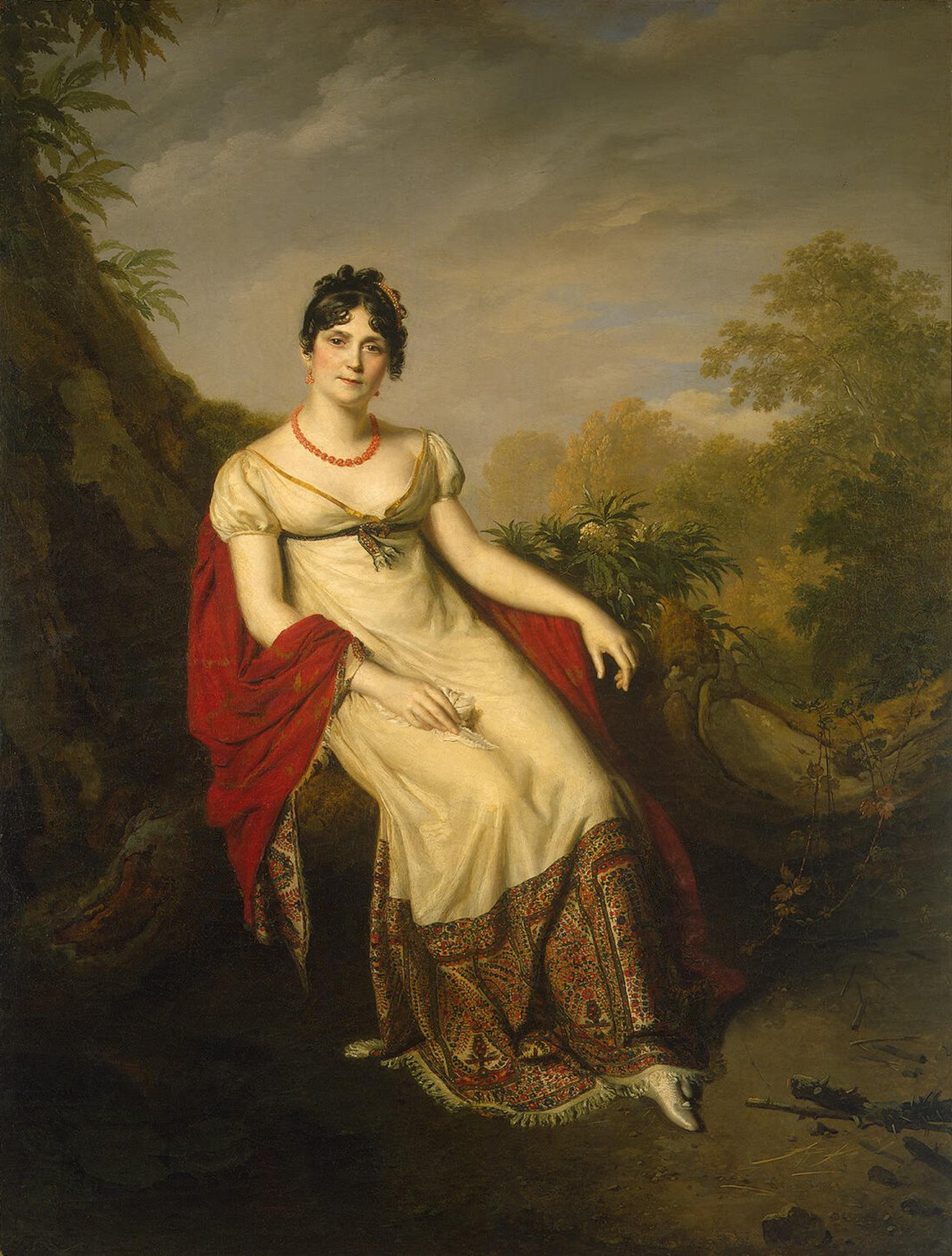 1812 Joséphine de France by Firmin Massot (State Hermitage ...
