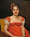 1812 Laure-Emilie-Felicite David, La Baronne Meunier by Jacques-Louis David (private collection)