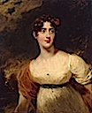 1813 Emily Harriet Wellesley-Pole, Lady Raglan by Sir Thomas Lawrence (Hermitage)