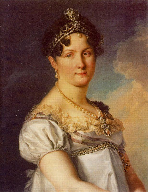 1814 - 1815 Maria Eulalia de Queralt y Silva, duquesa de San Carlos by Vicente Lopez (private collection)