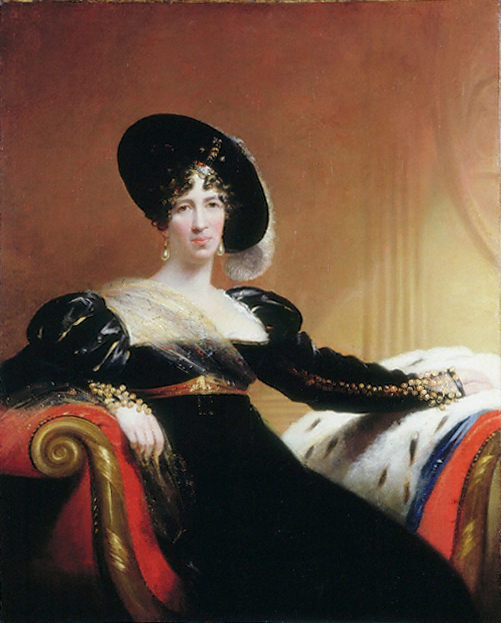 1815 Lady Anne Hamilton by James Lonsdale (Victoria and Albert Museum, London UK)