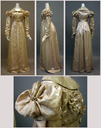 1818-1820 French silk redingote (Metropolitan Museum of Art - New York City, New York USA)