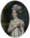 1818 Marie Thérèse Charlotte, Duchesse d'Angoulême by Jean Baptiste Jacques Augustin (auctioned by Sotheby's)