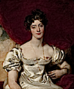 1818 Engagement painting of Lady Frances Anne Vane-Tempest by Sir Thomas Lawrence (location unknown to gogm)