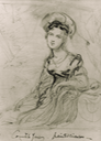 1819 Countess Jersey sketch by Sir George Hayter (location ?) From godsandfoolishgrandeur.blogspot.com/2016/11/portraits-of-silence-sarah-sophia-child.html