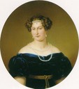 ca. 1820 Princess Antoinette Ernestine Amalie of Saxe-Coburg-Saalfeld by ? (location unknown to gogm)