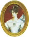 Middle 1820s Alexandra Feodorovna by K. Kronnovetter (location unknown to gogm)