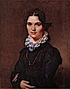 1821 Mademoiselle Jeanne-Suzanne-Catherine Gonin, later Madame Pyrame Thomegeux by Jean Auguste Dominique Ingres (Taft Museum, Cincinnati Ohio)