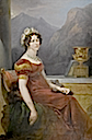 1822 Wilhelmine Charlotte, Countess of Münster by Peter Edward Ströhling (auctioned by Koller Zurich)