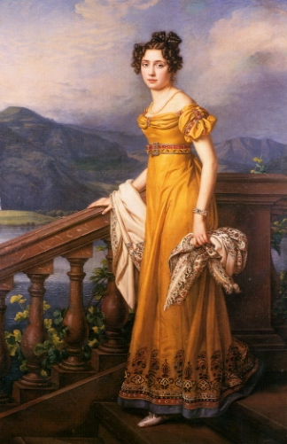 1823 Amalie Auguste, Princess of Bavaria and Queen of Saxony by Joseph Karl Stieler