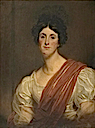 1825 Mary Lady Isham (d.1878), Wife of Sir Justinian Isham, 8th Bt by Martin Archer Shee (Lamport Hall - Lamport, Northamptonshire UK)