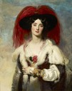 1827 Julia, Lady Peel by Sir Thomas Lawrence (Frick Collection - New York City, New York USA)