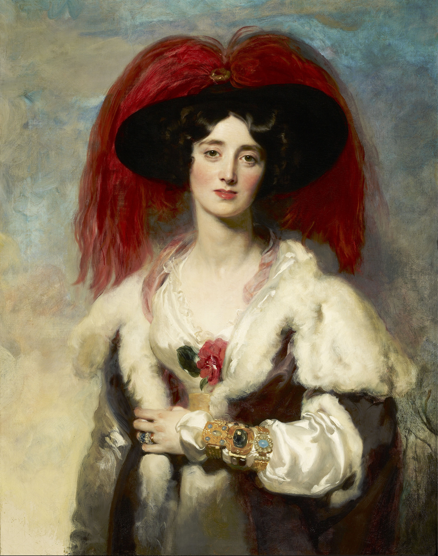 1827 Julia Lady Peel By Sir Thomas Lawrence Frick