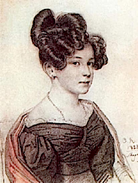 1828 Anna Olenina by Orest Adamovich Kiprensky (location unknown to gogm)