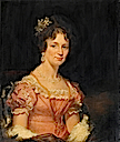 1829-1830 Lady Louisa Jane Grace Atkinson, née Gill by ? (Government Art Collection)