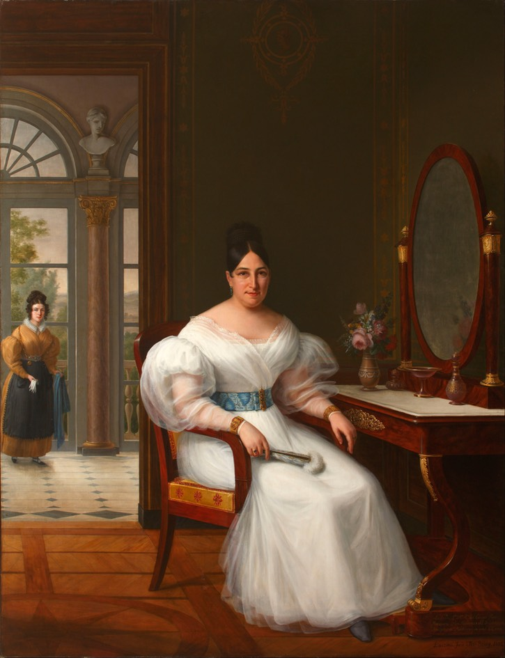 1833 Carmen Moreno, Marchioness of the Guadalquivir Marshes by ? (Museo del Romanticismo - Madrid, Spain) Google Art Project via Wm