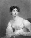 1834 (issue date) Harriet Arbuthnot by William Ensom after Sir Thomas Lawrence