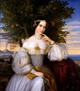 1836 Marriage Portrait of Charlotte de Rothschild by Moritz Daniel Oppenheim (Israel Museum - Jerusalem, Jerusalem District, Israel) Google Art Project via Wm