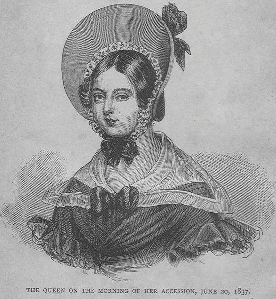 1837 Queen Victoria engraving