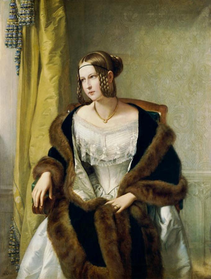 1838 freifrau von bernus by philipp velt st delsches kunstinstitut und st dtische galerie. Black Bedroom Furniture Sets. Home Design Ideas