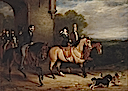 1838-1839 Queen Victoria Riding Out by Sir Francis Grant (Royal Collection)