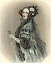 1838 Ada Lovelace, enlarged (Science Museum, London/Science and Society Picture Library)