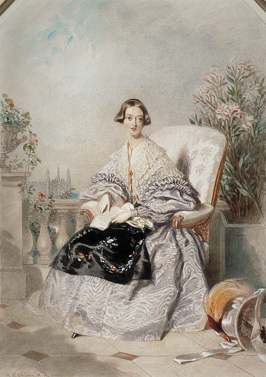 1838 Queen Victoria by Alfred Edward Chalon (National Galleries of Scotland, Edinburgh)