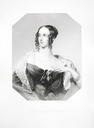 1839 (first issued) Susanna Stephenia Innes-Ker (née Dalbiac), Duchess of Roxburghe by or after John Cochran, after Andrew Robertson stipple engraving