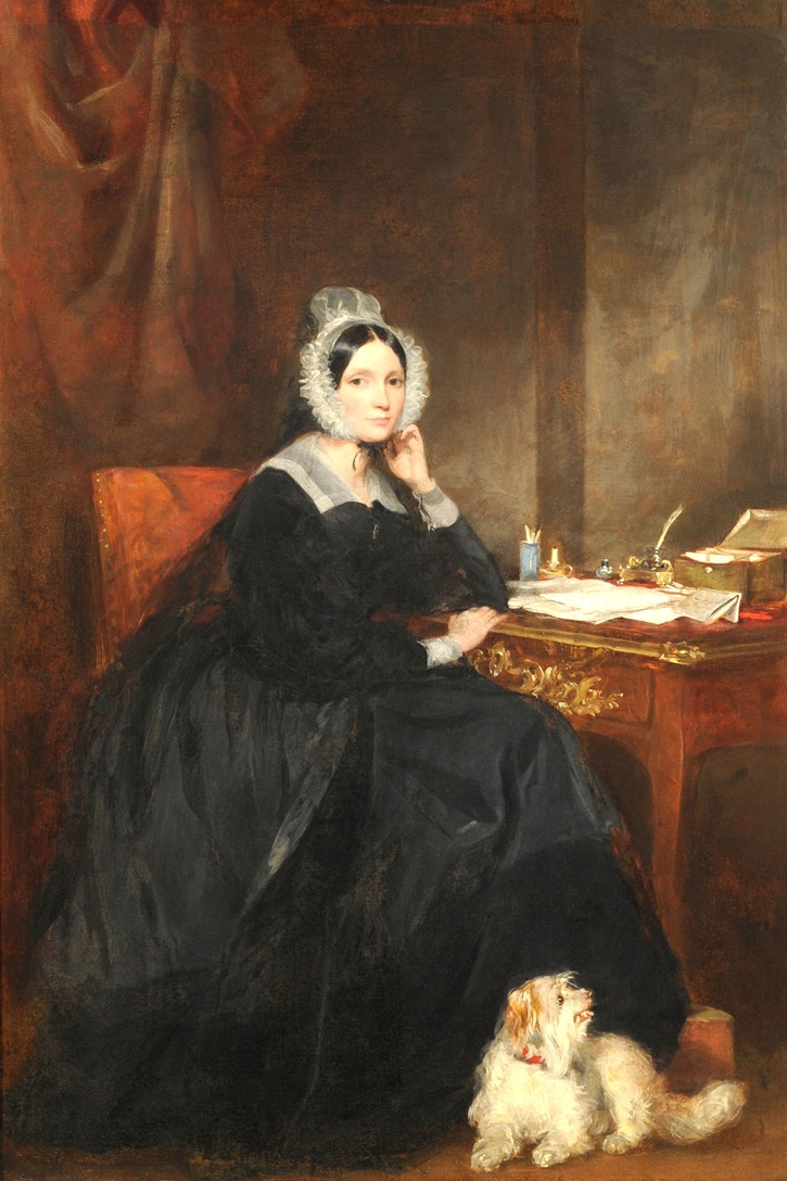 1840 Charlotte, Lady Malcolm (1789-1867), née Isabella Charlotte Campbell, by Sir Francis Grant (auctioned by Tennants)