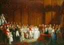 1840 Queen Victoria's Marriage by Sir George Hayter (Royal Collection)