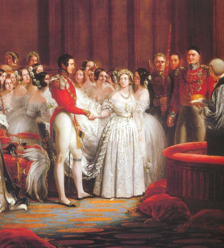 1840 Queen Victoria's Marriage By Sir George Hayter (Royal