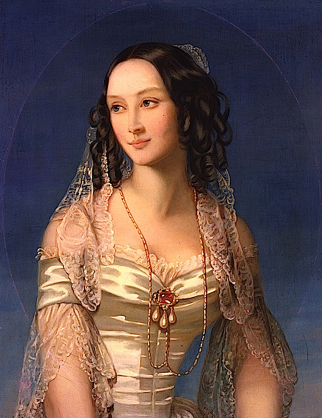 1840s Duchess Zinaida Yussupova by Christina Robertson (State Tretyakov Gallery, Moskva Russia) From BeautyOfThePast's photostream on flickr